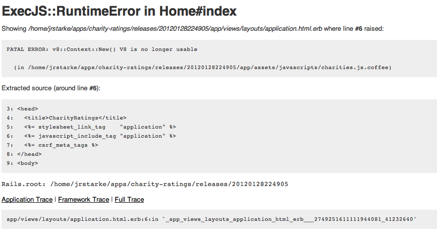 ExecJS::RuntimeError in Home#index